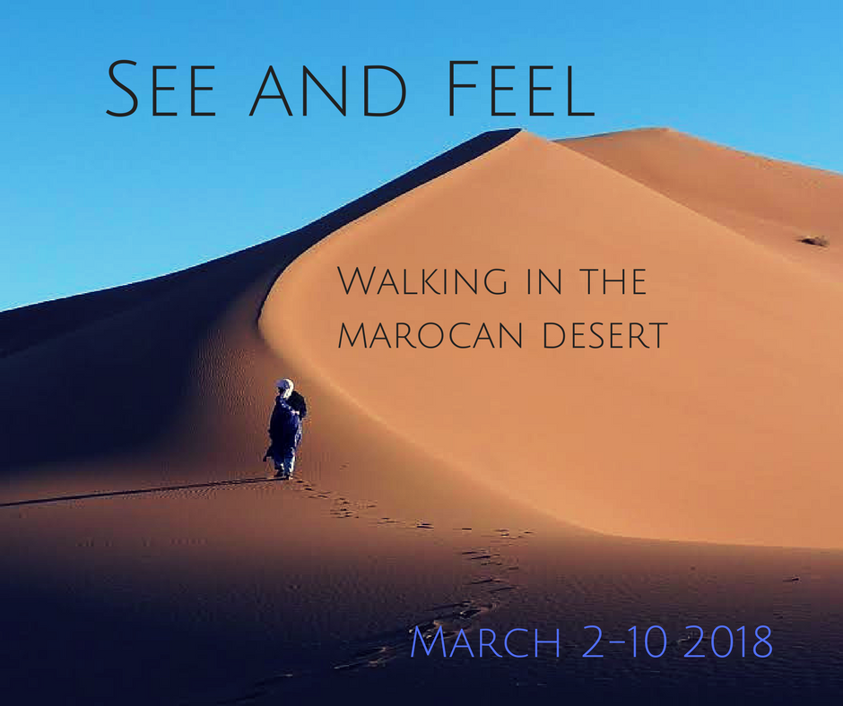 See and Feel I marocan desert