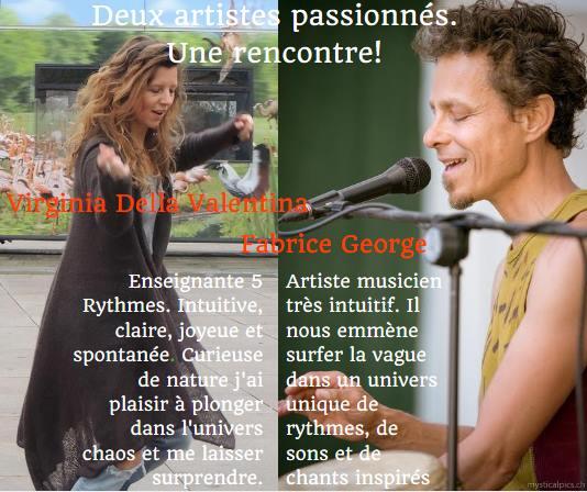 Danse des 5Rythmes sur musique live I Namur