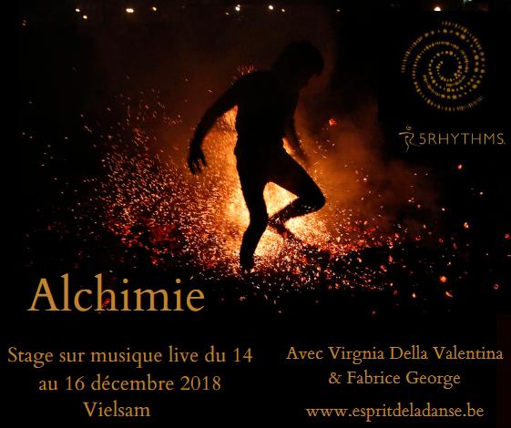 """Stage """"Alchimie"""" I Danse des 5Rythmes sur musique live"""