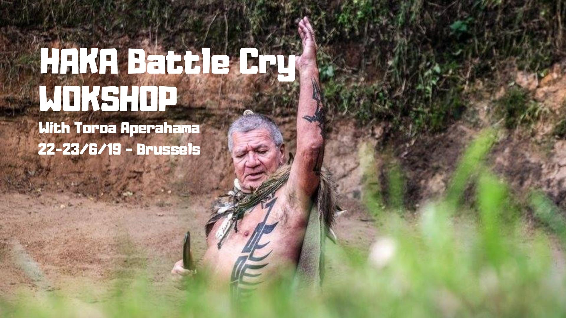 HAKA Battle Cry Workshop for men I Brussels